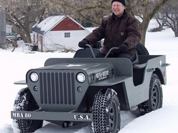 Track Loader For Sale >> MINI-BEEP MBA80 DIY jeep- Struck Corp