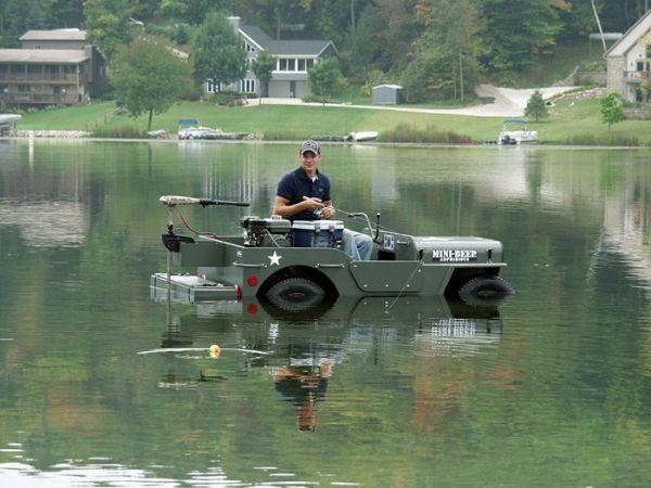Amphibious Vehicle For Sale >> MINI-BEEP MBA80 DIY jeep- Struck Corp