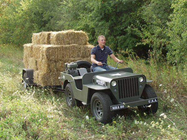Bulldozers For Sale >> MINI-BEEP MBA80 DIY jeep- Struck Corp