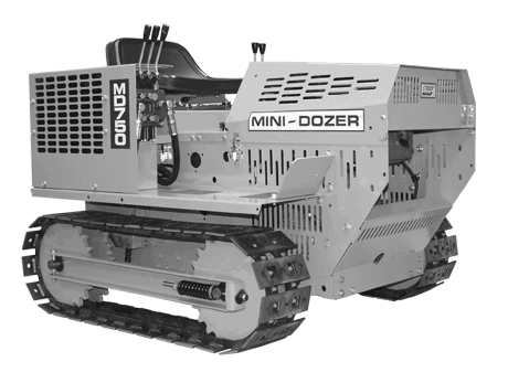 Mini-Dozer MD750 photo