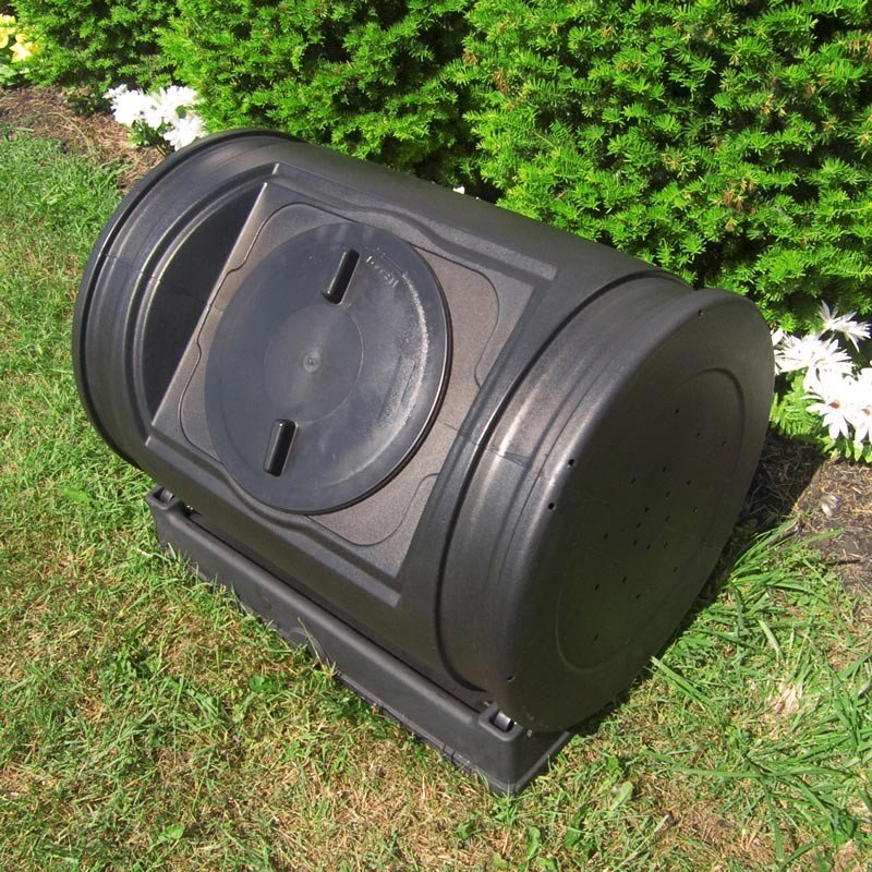 Garden Soil - Buy or Make a Compost Tumbler to Repurpose Food Waste