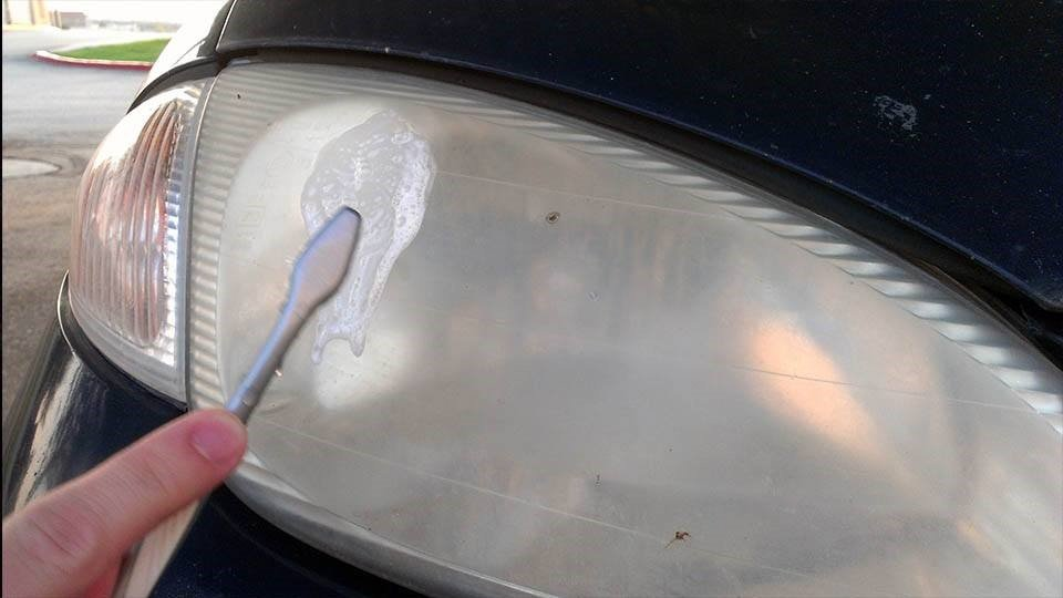 Use Toothpaste to Clean Headlights and Buff Out Scuffs