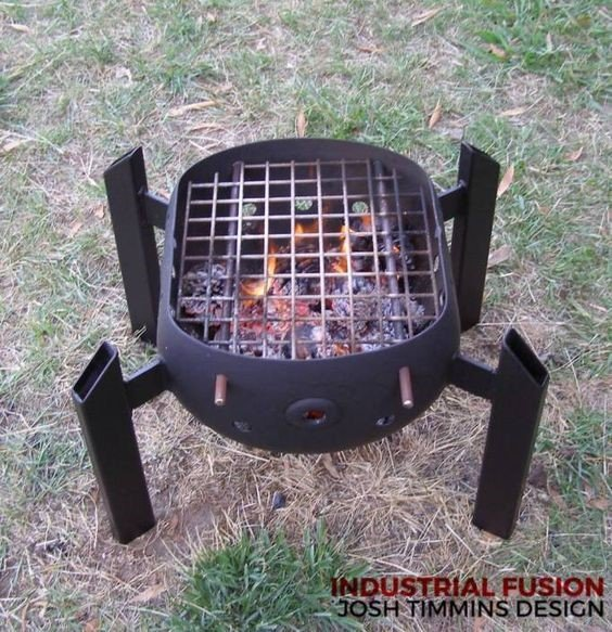 Personal Sized Grill - struck corp