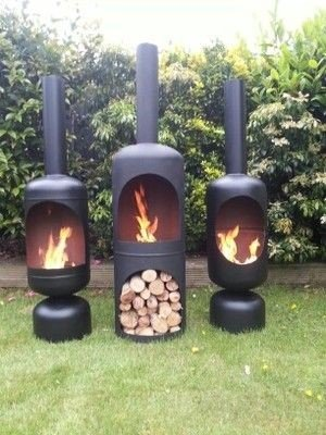 DIY Welded Chiminea