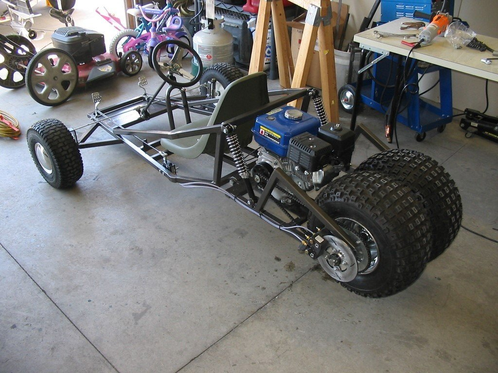 Weld Your Own Go-Kart Frame