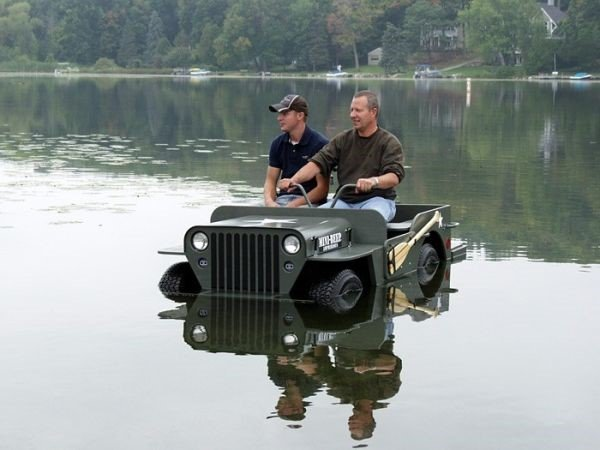 MINI-BEEP MBA80 / D-I-Y Amphibious Jeep Kit