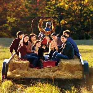 Fall Hayride for the Family