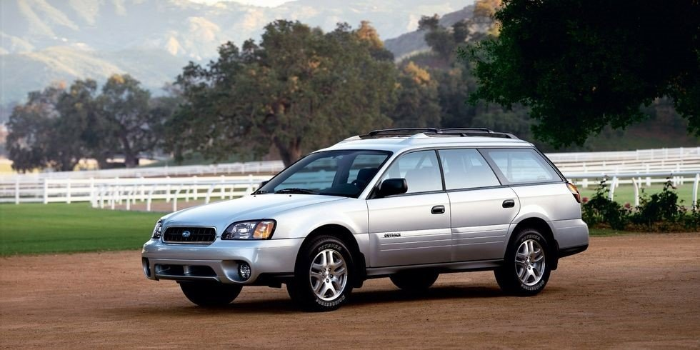 snow vehicles - Subaru Outback