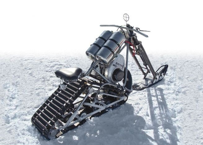 snow vehicles - Snow Chopper