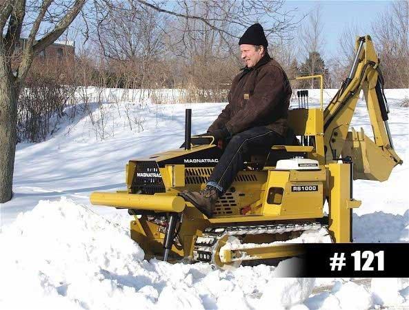 snow vehicles - MAGNATRACK RS1000