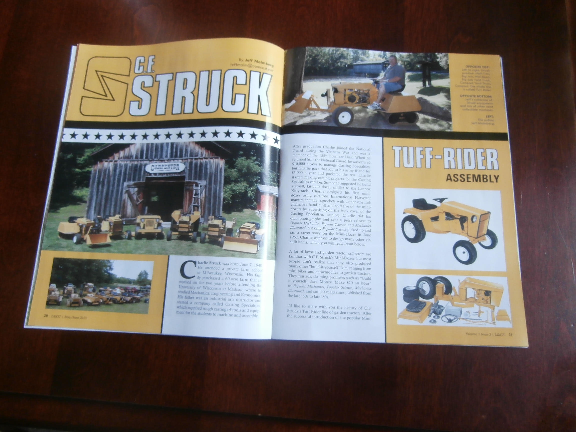 Struck Mini Dozer