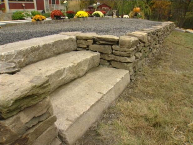 Choose the Right Materials - Building a Retaining Wall