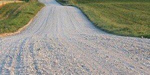 Make Multiple Passes - Gravel Roads