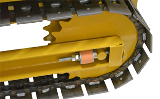 Robot Welded Track System with TCP Technology