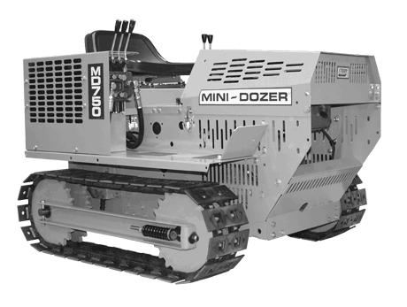 Mini-Dozer MD750 photo