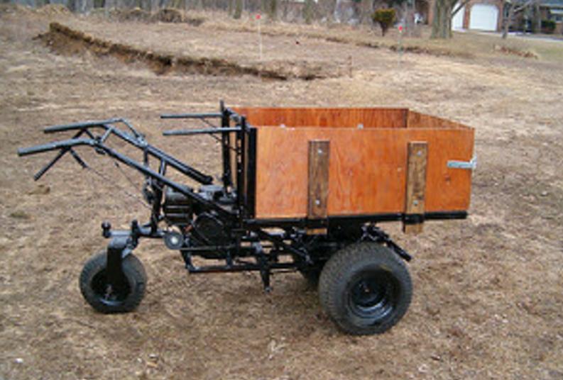 Homemade Power Wheelbarrow