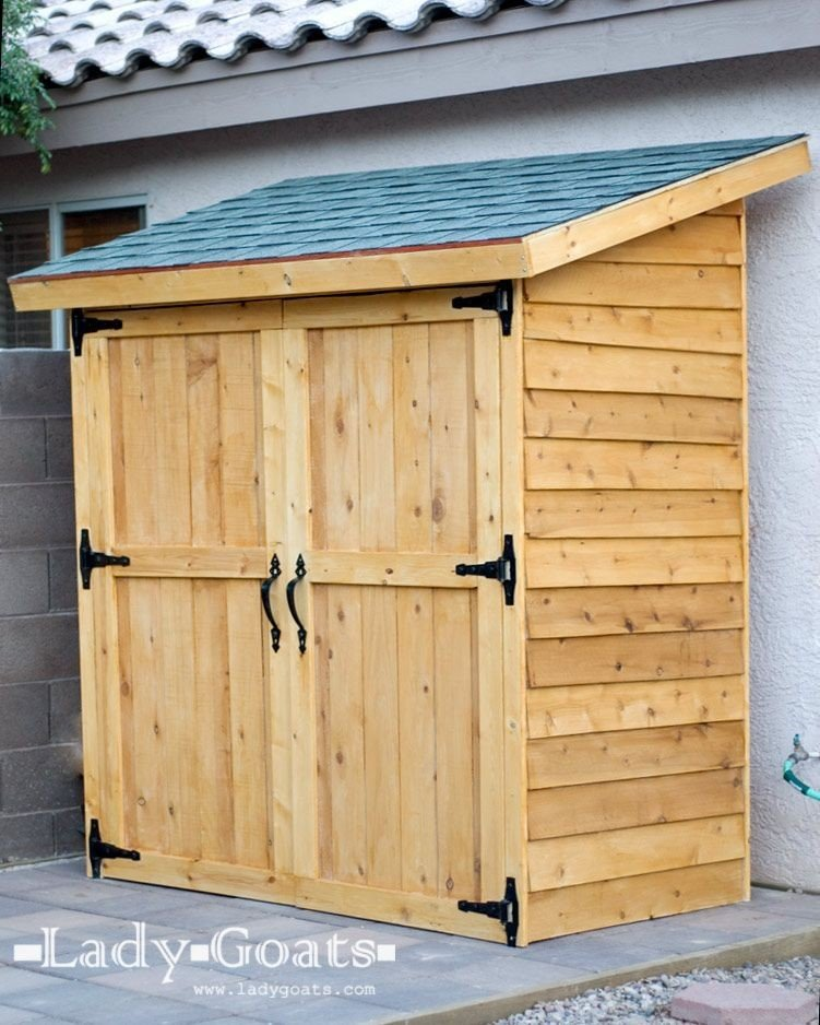 Build Your Own Backyard DIY Shed - Struck Corp