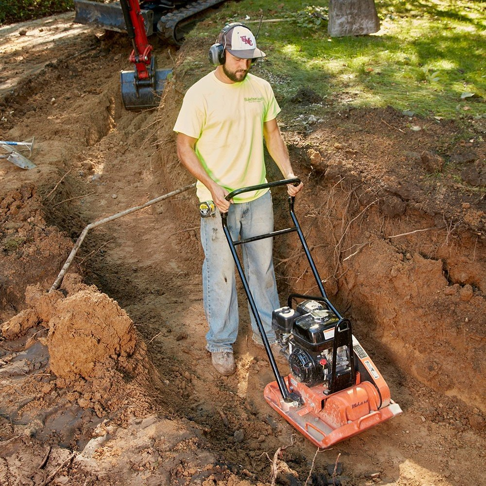 Only Build on Compact Soil - Building a Retaining Wall