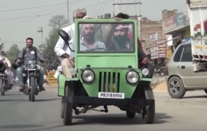 6. Mini Jeep