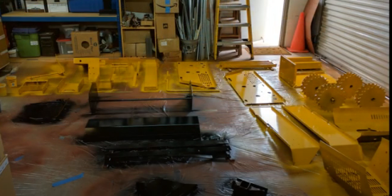 MINI-DOZER® MD196K Assembly Part 1: Painting