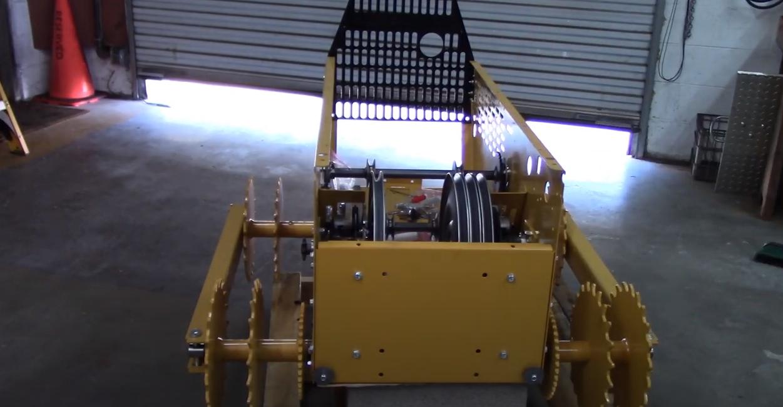 MINI-DOZER MD196K Assembly part 3A: Drive