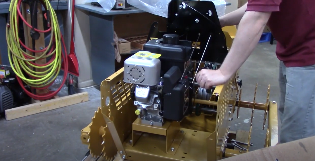 MINI-DOZER MD196K Assembly Part 4: Engine and Electrical