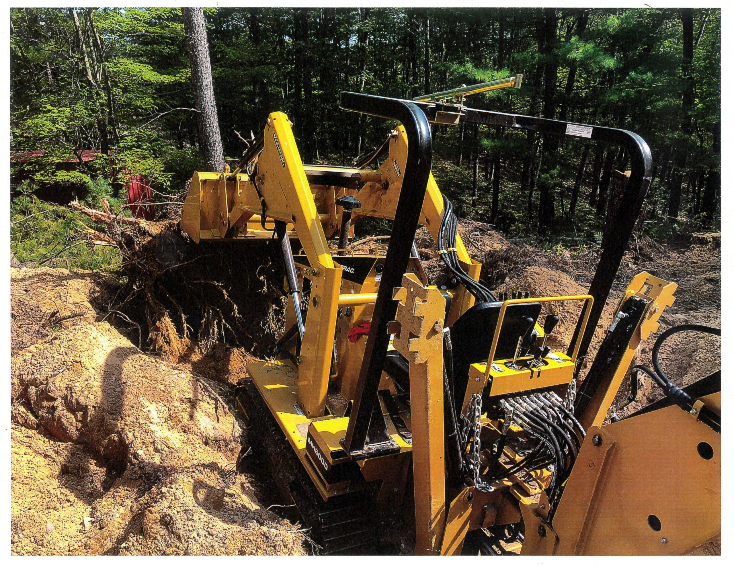 A MAGNATRAC® Helped Joe Build His Dream Home