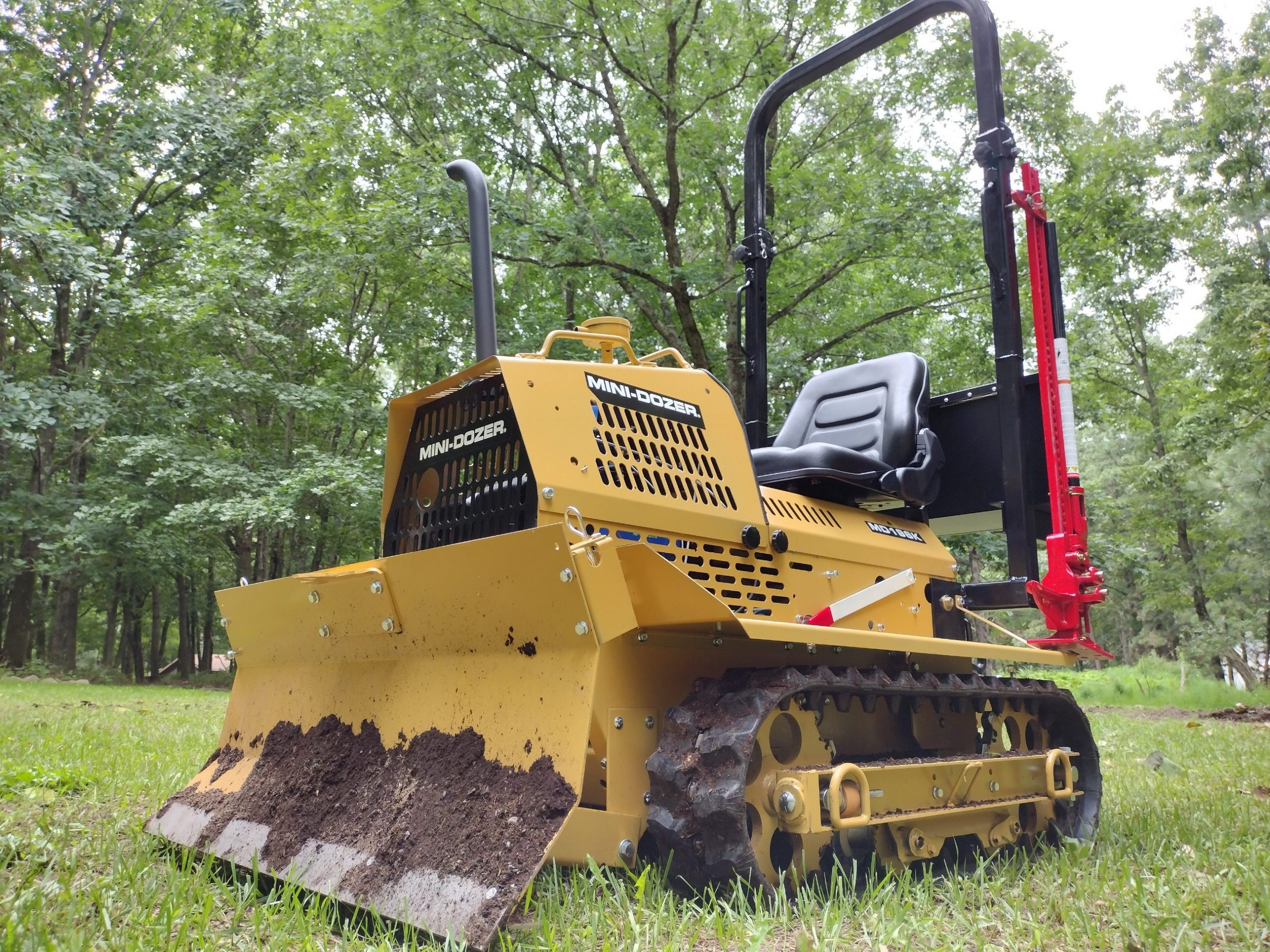 Satisfied Customer Reveals: Why He Had So Much Fun Building his MINI-DOZER® MD196K